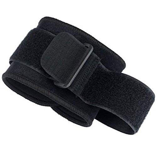 1 PC Tennis Elbow Pads Crossfit Arm Adjustable Brace Support Protector Neoprene Golf Pain Forearm Strap Pad Bands - Black