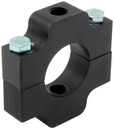allstar-all14195-black-anodized-aluminum-economy-model-ballast-bracket-for-150-round-tubing