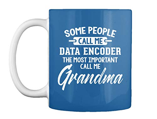 Gift for data encoder grandma mothers. 11oz - Dk royal Mug - Teespring Mug
