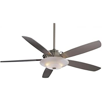 Minka Aire F598 Bn Airus 54 Quot Ceiling Fan With Light Brushed Nickel Amazon Com