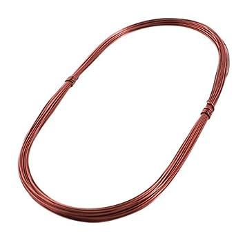 0.74mm Dia soldar cobre esmaltado Winding bobina de alambre de 20 metros: Amazon.es: Bricolaje y herramientas