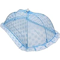 Kids Creation Mommas Baby Mosquito Net Multi Design (Large, Blue)