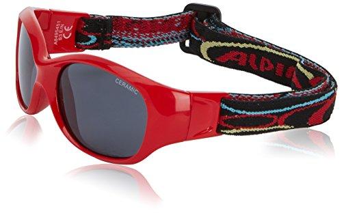 Alpina Flexy Lunettes de soleil de sport Rouge