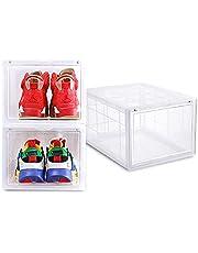 SoleMate MS-2555 - AJ Premium Jumbo Shoe Box (Clear) - Dim: 37.5x28x22cm