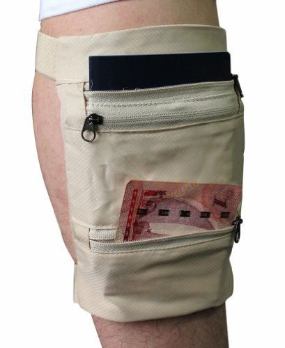 Travel Gear Undercover Leg Wallet By Marshal