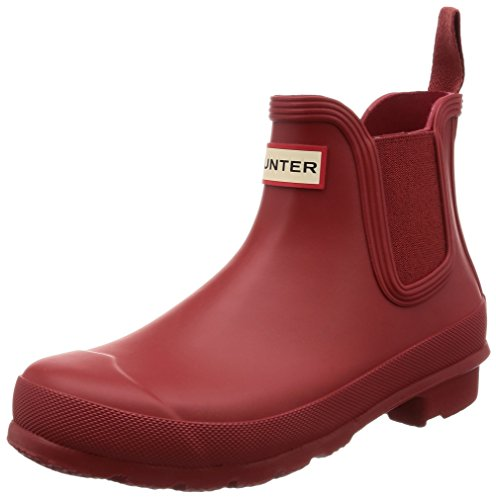 Military Red Chelsea Rubber Hunter Original Womens Boots 1AHqn6Xfxw