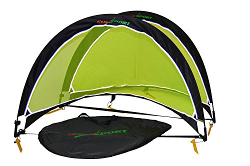 SUESPORT Soccer Goals Foldable Colapsible