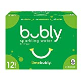 Bubly Lime Sparkling Water, Lime, 355 milliliters