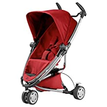 Quinny Quinny Zapp Xtra2 Stroller (Red Rumour/Silver Frame) by Quinny