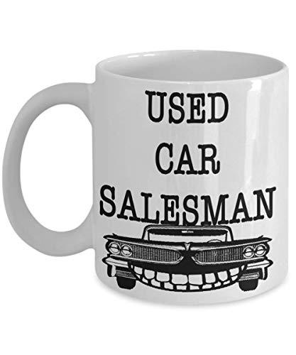 (Used Car Salesman Coffee Mug Gift for Auto Sales Coworker Friend Family Birthdayday Retirement Award Christmas 11oz or BIG 15oz Cup)