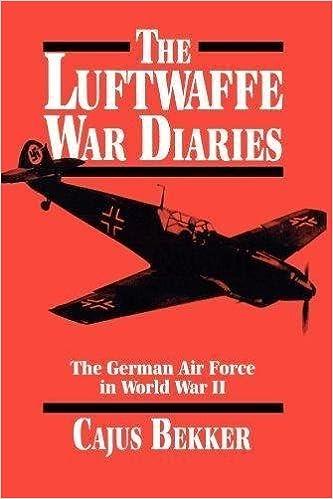 The Luftwaffe War Diaries: The German Air Force in World War II: Amazon.es: Cajus Bekker: Libros en idiomas extranjeros