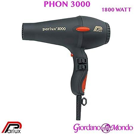 secador de pelo 3000 secador parlux 1810 W Profesional para peluquería: Amazon.es: Belleza