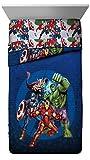 Marvel Avengers Blue Circle Twin/Full Comforter