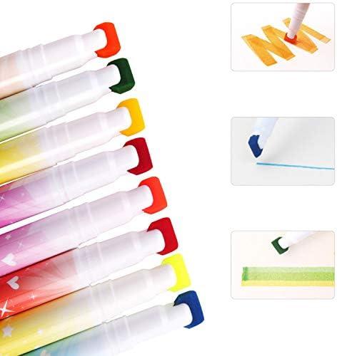 Aoitori 水彩ペン カラーペン 水彩毛筆 水性ペン 24色 36色 画筆 水洗可能 双ペン先 収納ケース付き 子供向け 学