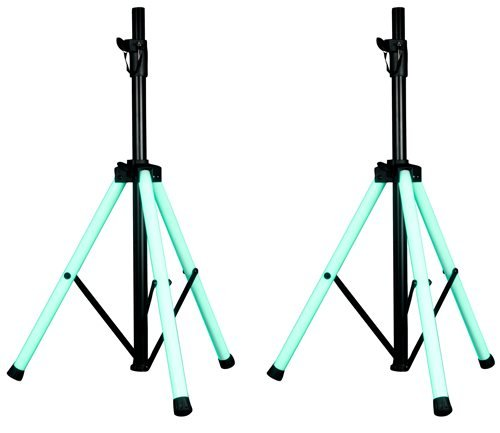American Audio CSL-100 LED Light-Up Speaker Stand Pair by American Audio