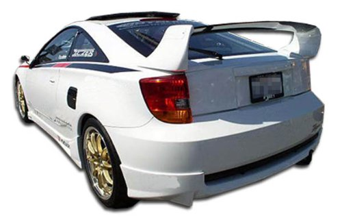 Rear Under Spoiler (2000-2005 Toyota Celica Duraflex TD3000 Rear Lip Under Spoiler Air Dam - 1 Piece)