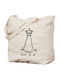 CafePress - Bride To Be - Natural Canvas Tote Bag, Cloth Shopping Bag
