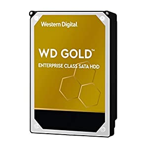 "WD Gold 8TB Enterprise Class Internal Hard Drive - 7200 RPM Class, SATA 6 Gb/s, 256 MB Cache, 3.5"" - WD8004FRYZ 41 6PeOBPqL. SS300"