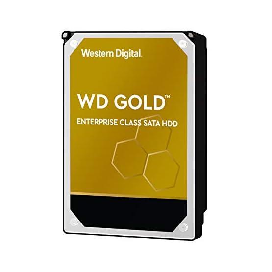 "WD Gold 10TB Enterprise Class Internal Hard Drive - 7200 RPM Class, SATA 6 Gb/s, 256 MB Cache, 3.5"" - WD102KRYZ 41 6PeOBPqL. SS555"