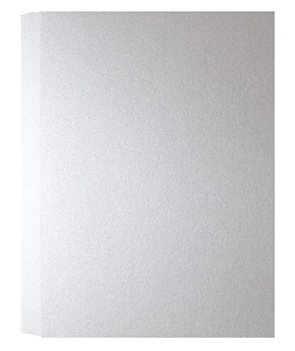 (Shimmer Shimmer Pure White A7-Insert (5-x-7) Flat Cards 50-pk - PaperPapers 249 GSM (92lb Cover) Pre-Cut Flat Cards for Tags, Cardmaking, DIY Crafting and More -This is Small Flat Cards only )