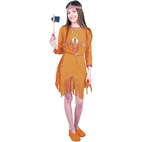 Child (Girls Tan Native Princess Indian Costumes)