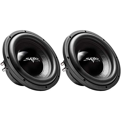 (2) Skar Audio IX-10 D4 10
