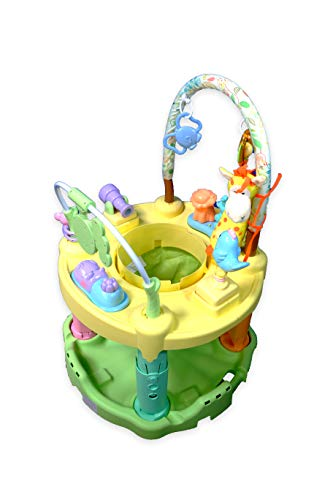 Einstein Jungle Baby - NBD Corp Colorful Jungle Jumping Chair Has Jungle Friends for Fun Jungle Activities for Your Little Jumper Invites Baby to Discover New Jungle Friends