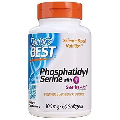 Doctor's Best Best Phosphatidyl Serine, 100 mg