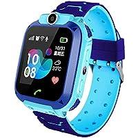 Smartwatch Niños, Reloj Inteligente Niña IP67, LBS, Hacer Llamada, Chat de Voz, SOS, Modo de Clase, Cmara, Juegos…