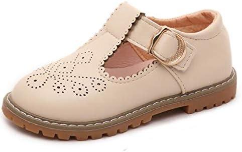 کفش لباس مجلسی مدرسه T-بند دخترانه Bumud ، آپارتمان های مری جین پرنسس را قطع کرد