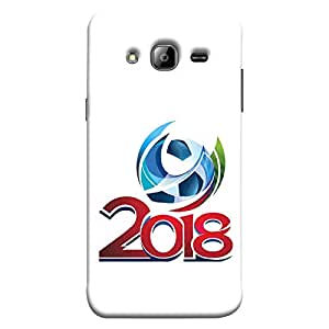 ColorKing Samsung J3 2016 Football White Case shell cover - Fifa Cup 03