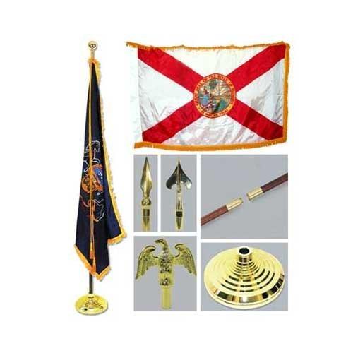 Florida 3ft x 5ft Flag Flagpole Base and Tassel