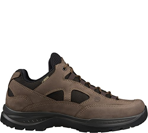 Wide para Gtx Zapatos Lady de Mujer Senderismo Hanwag Light Marrón Brown Low Gritstone Rise Sqnc5zA