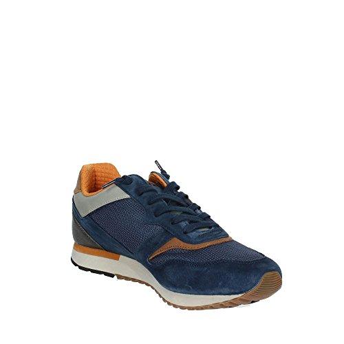 Tokyo Ginza Blue Lotto Mesh Leggenda Leder Sneaker Blau in und wBxOZqP