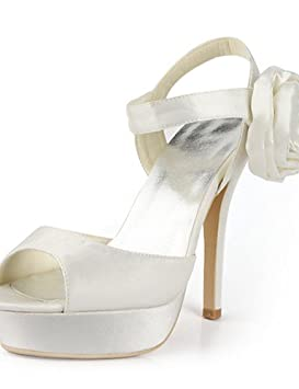 GGX/ Zapatos de boda-Planos-Tacones / Punta Abierta-Boda / Vestido