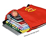 Mc_Donalds Drawstring Backpack Gym Sack Pack