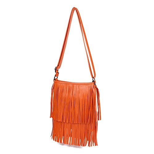 Donna A London Orange Borsa Spalla Craze IRAawzqS