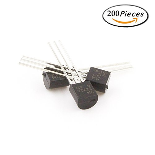 22k Resistor (2N2222 TO-92 Plastic-Encapsulate Power Transistors NPN 600mA 75V 1 Pack)