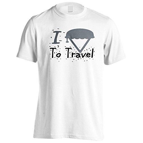 Neue Ich Liebe Reisearmee Herren T-Shirt l745m