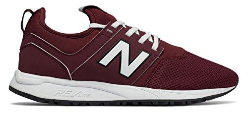(ニューバランス) New Balance 靴?シューズ レディースライフスタイル 247 Classic Oxblood with Angora オックスブラッド US 8 (25cm)