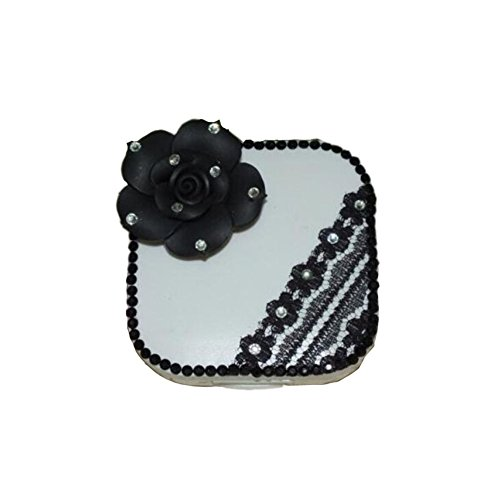 black-rose-lace-special-diy-contact-lenses-box-case-holders-container