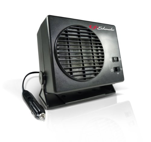 Schumacher 1224 12V 235W/150W Ceramic Heater and Fan