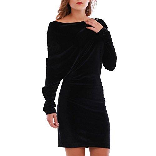La Modeuse - Vestido - para mujer negro