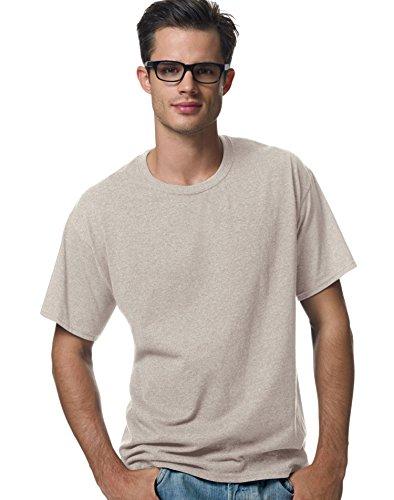 Comfortblend Crewneck - Hanes ComfortBlend & EcoSmart & Crewneck Men's T-Shirt, Sand, Size - S