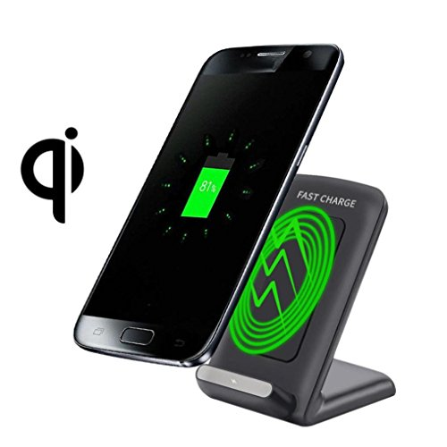 Qi Fast Wireless Charger Aobiny Charging Stand for Samsung Galaxy Note 8 by Aobiny