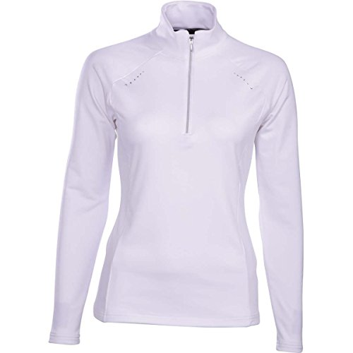 Descente Womens Kelsey 1/4 Zip (Super White / -