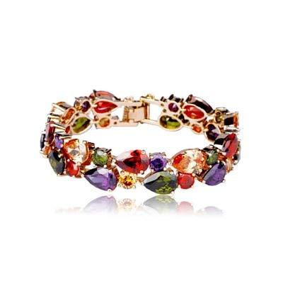 Multicolor Armband Armband & Bangles (Rose-Gold)