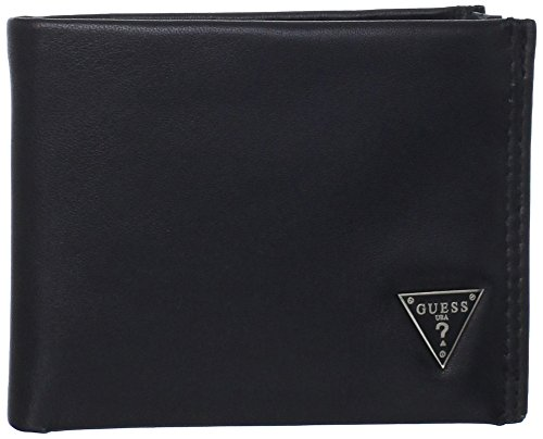 GUESS Mens Leather Passcase Wallet