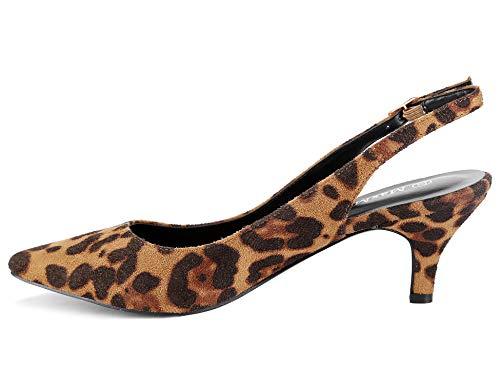 Les À Chaussures Dos Pour Sangles Le 41 Des Boucles Femmes Talon Avec Sur Espigones Greatonu Eu Imprimé Léopard Et 36 Classics 56dwB5q