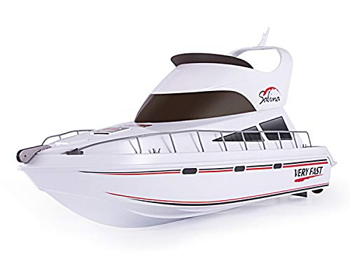 POCO DIVO Salina Luxury Yacht RC Model Boat 2.4Ghz Radio Remote Control Speed Watercraft Racing Ship 28
